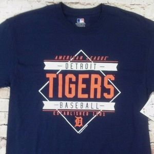 Detroit Tigers Men's Medium baseball T-shirt